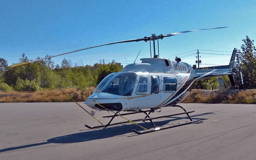 1976 Bell 206 LR