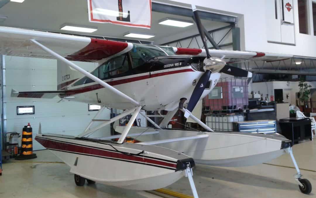 1975 Cessna 185 Amphibian